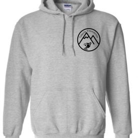 Grey Hoodie with Tadpole Logo