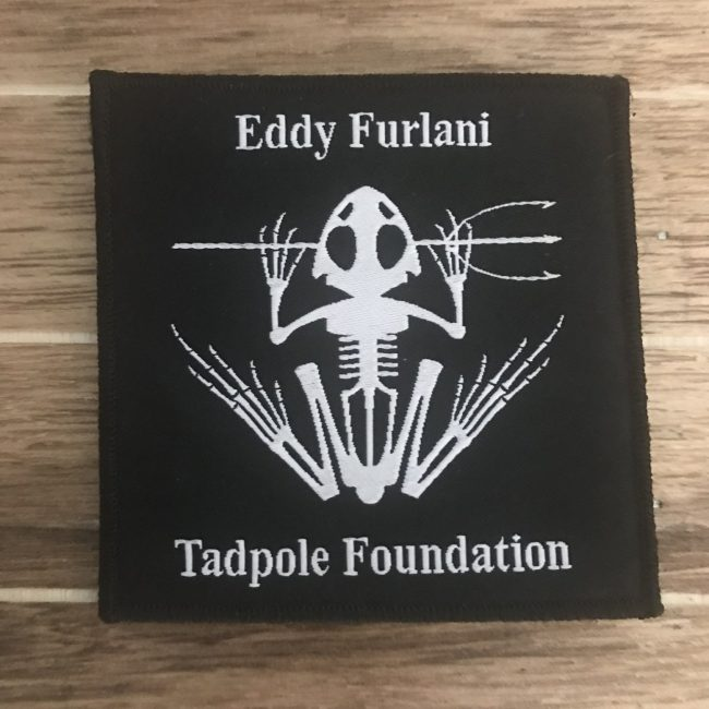 Tadpole Foundation Velcro Patch